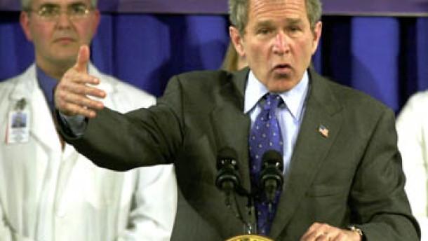 Bush: Olympia eine Chance für die Welt