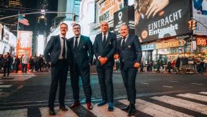 Eintracht Frankfurt hat jetzt auch ein Büro in New York