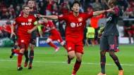 Befreiung: Son sorgt für die Vorentscheidung für Leverkusen