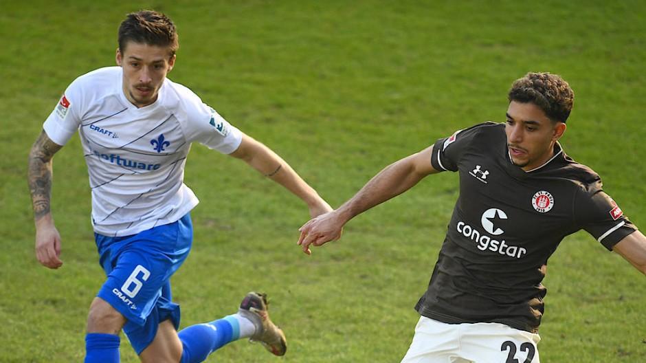 St. Pauli setzte sich auch gegen Darmstadt am Samstag durch.