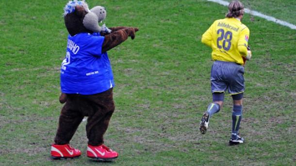 Hertha BSC tritt auf der letzten Stelle