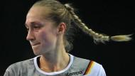 Tränen lügen nicht: Deutschlands Handball-Team ist ausgeschieden