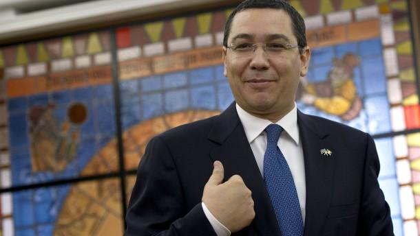 Ponta legt Parteivorsitz vorübergehend nieder
