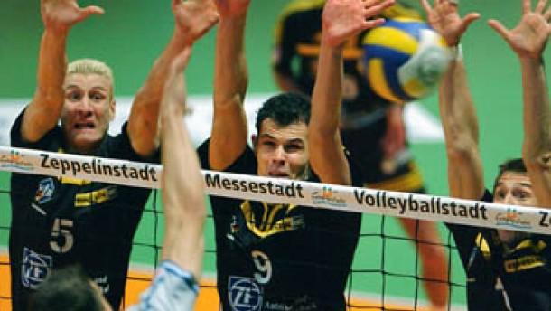 Friedrichshafen zum vierten Mal Pokalsieger