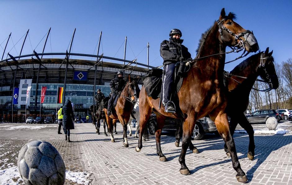 Das Sicherheitsaufgebot in Hamburg war groß.