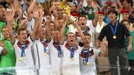 Höfl-Riesch, Harting und die Weltmeister