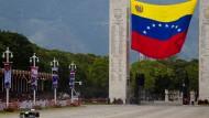 Zum Ruhme der Bolivarischen Republik: Ausfahrt mit Symbolcharakter am Sonntag in Caracas
