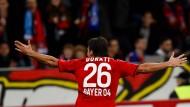 Leverkusen nimmt Kurs Richtung Achtelfinale