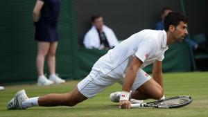 Am schlimmsten erwischt es Djokovic