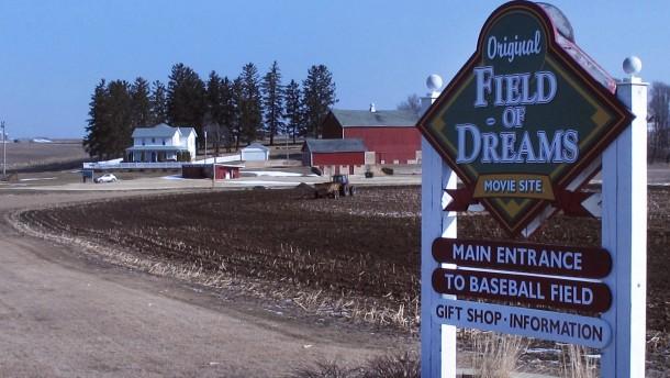 "Baseball auf dem ""Feld der Träume"""