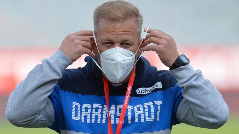 Wo Darmstadt draufsteht, ist jetzt nicht mehr Darmstadt drin: Trainer Markus Anfang geht zu Werder Bremen.