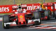 Ferrari in Aufruhr
