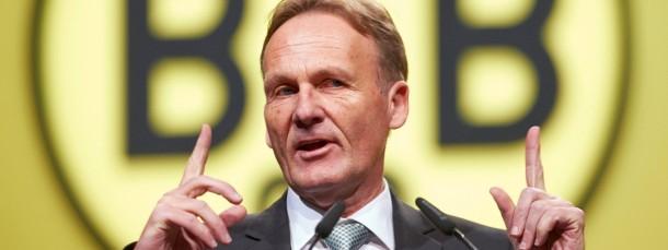 Der Dortmunder Geschäftsführer Hans-Joachim Watzke