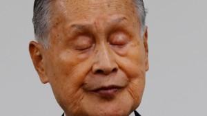 Japans Olympia-Chef Mori vor dem Rücktritt