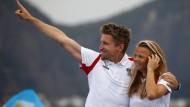 Österreichs Vorzeigepaar bei den Sommerspielen: Thomas Zajac und Tanja Frank