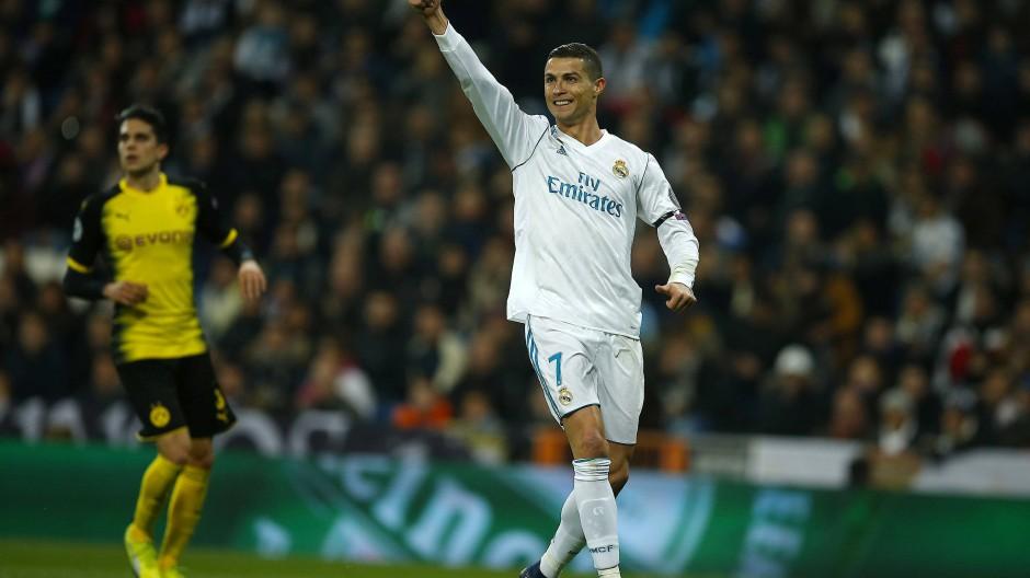 Erfolgsverwöhnt: Cristiano Ronaldo hat in allen Vorrundenspielen getroffen