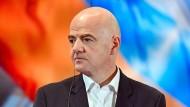 Gegenwind für den Fifa-Präsidenten: Gianni Infantino