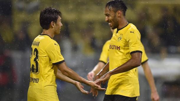 Dortmund darf nach Qäbälä