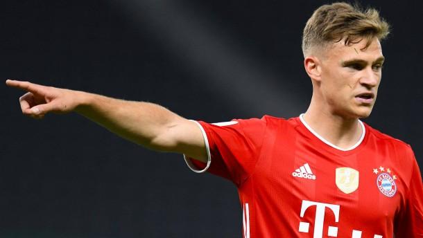 """Bayerns """"großes Zeichen"""" mit Kimmich"""
