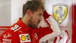 Vettel erhält Verwarnung und Geldstrafe