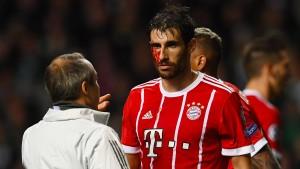 Martinez hält den Kopf hin