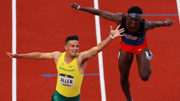 Football-Spieler nimmt alle Hürden nach Rio