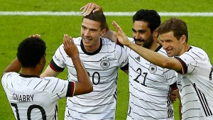 Sieben deutsche Tore für die gute Laune