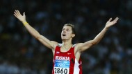 Sieger in Athen: Juri Borsakowski, Olympiasieger von 2004, soll die russische Leichtathletik retten
