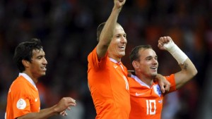 Arjen Robbens Heimspiel gegen Wesley Sneijder