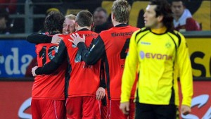 Dortmund verliert den Anschluss an das Spitzentrio