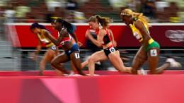 Dreifach-Erfolg für Jamaikas Sprinterinnen