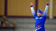 Grund zum Jubeln? Am Dienstag erfährt Claudia Pechstein das Resultat ihres wichtigsten Wettkampfs.