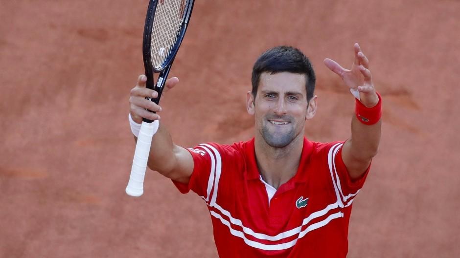 Titel Nummer 19: Novak Djokovic gewann zum zweiten Mal die French Open.