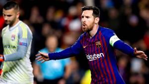Barcelona fertig Lyon eiskalt ab