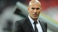 Drei Monate Sperre für Zidane