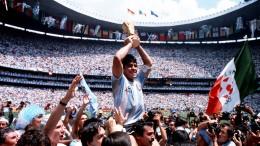 Die zehn größten Spiele von Diego Maradona