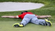 Golfer auf Grün - Gruschwitz sieht schwarz