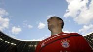 Unterm blau-weißen Himmel: Franck Ribery