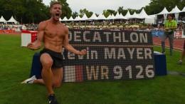 Kevin Mayer stellt neuen Weltrekord auf