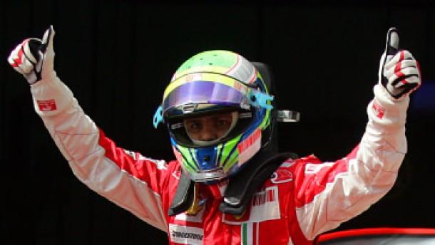 Massa steht vor Kovalainen auf der Pole Position