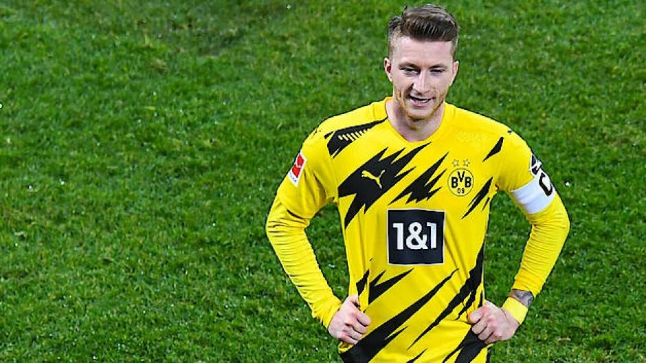 Ausgewechselt und enttäuscht: Marco Reus