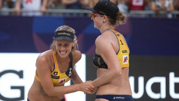 Deutsches Duo überrascht Olympiasiegerinnen