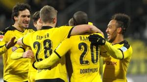 Dortmund siegt im Sparmodus