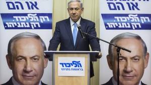 Gemischte Reaktionen auf Sieg Netanjahus