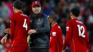 Klopp und Liverpool bleiben ohne Tor