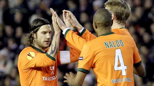 Frings' rätselhafter Elfmeter hilft Bremen in Valencia