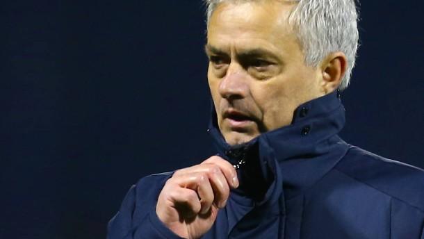 """""""Inakzeptabel"""": Mourinho poltert nach Aus für Tottenham"""
