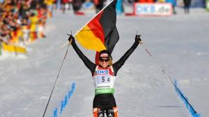 Gold für deutsche Frauen