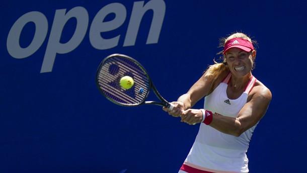 Starke Kerber bei US Open im Achtelfinale
