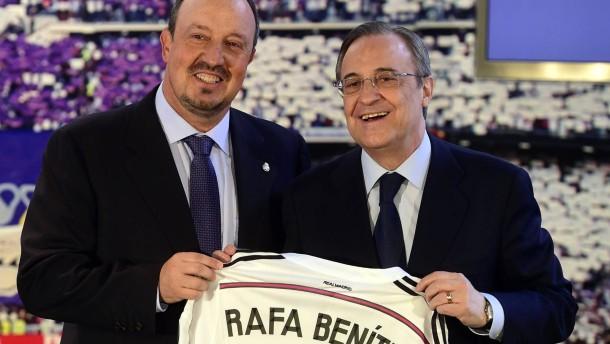 Benítez neuer Trainer von Real Madrid